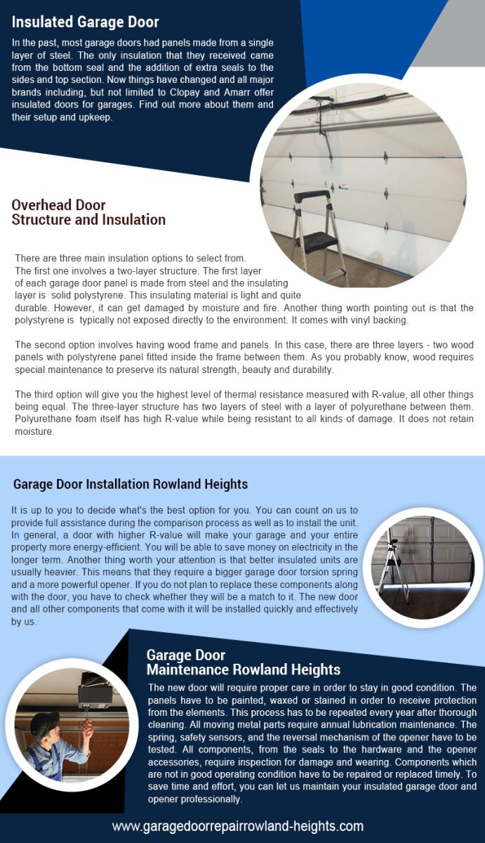 Garage Door Repair Rowland Heights Infographic